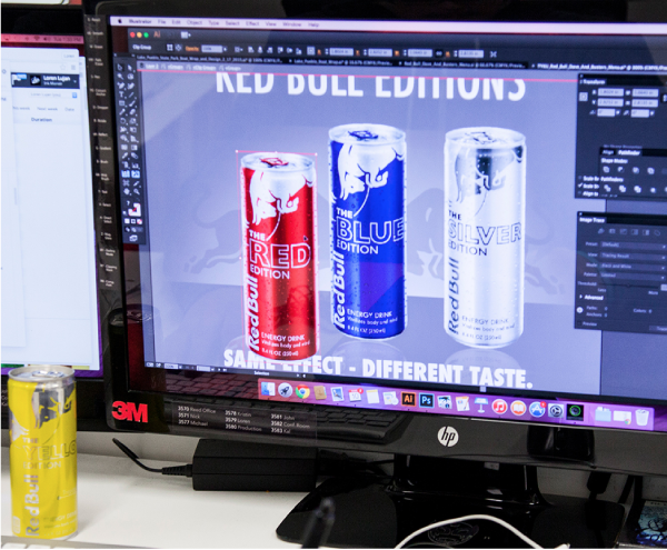 Art & Posters - Red Bull Cans