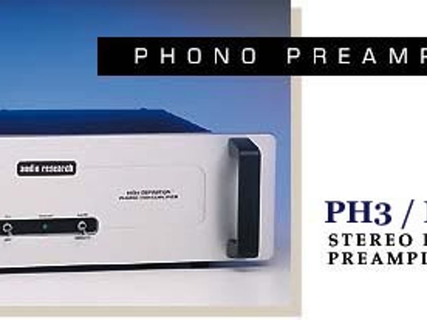 Audio Research Phono Preamp PH3-SE Special Edition