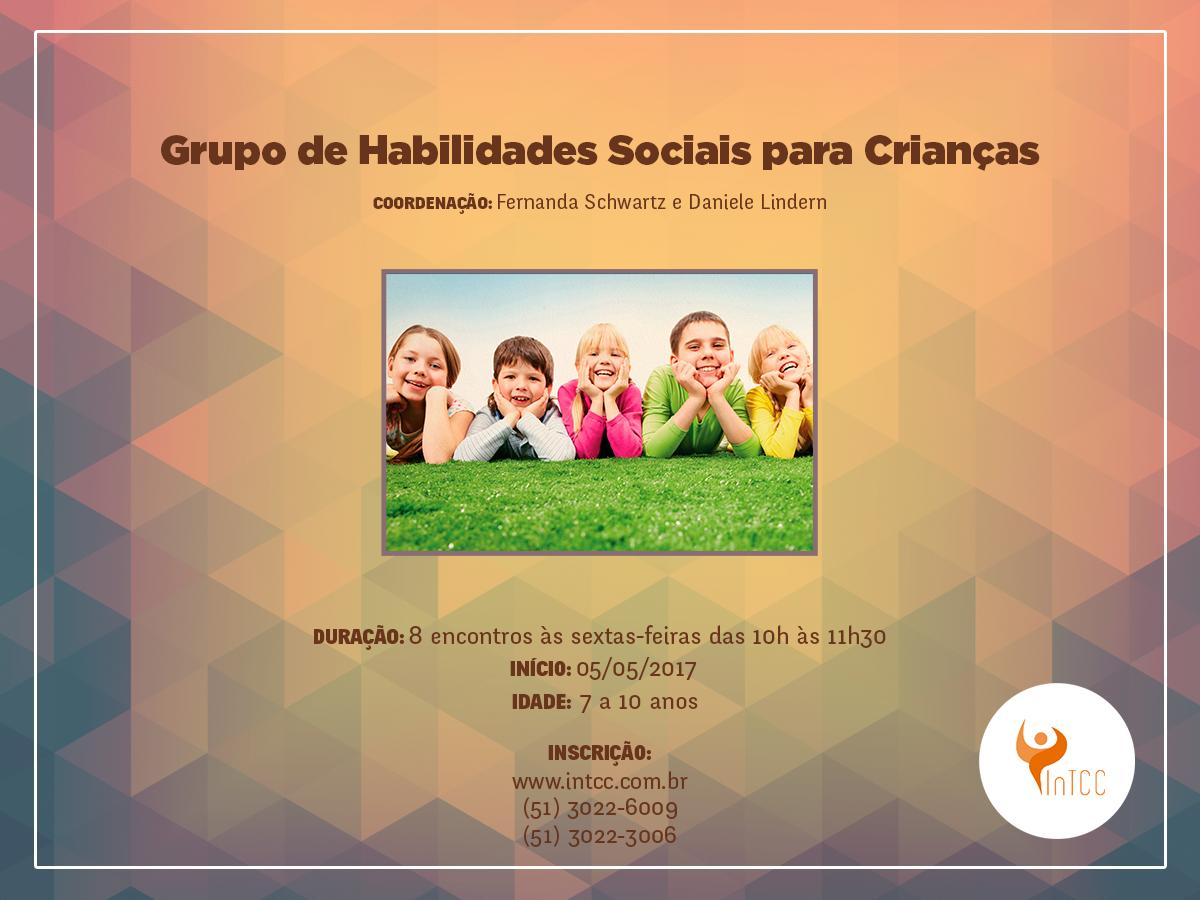 Grupo de Habilidades Sociais para Crianças