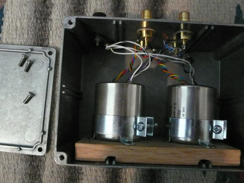 Jensen JT-346-AX moving coil stepup transformers used in Rowland, ARC