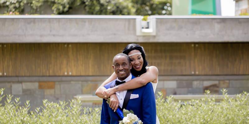 A High Fashion Intimate Weekday Wedding
