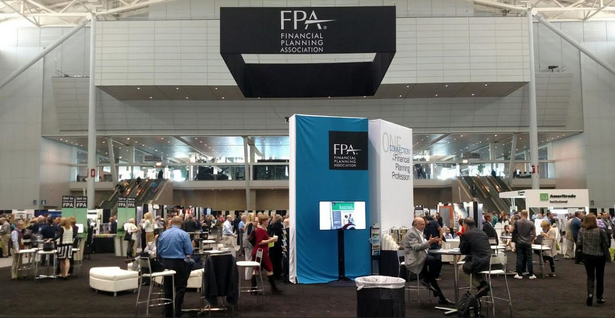 CFPs thronged the exhibit hall in search of swag -- perhaps to distract themselves from talk of thorny DOL fiduciary rules coming their way.