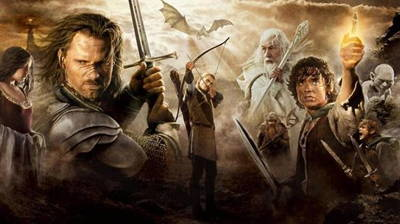 Lord of the Rings Trilogy - Outside!
