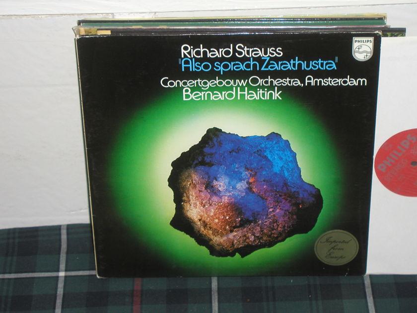 Haitink/COA - Strauss/Also Sprach LP Philips Import Pressing 6500