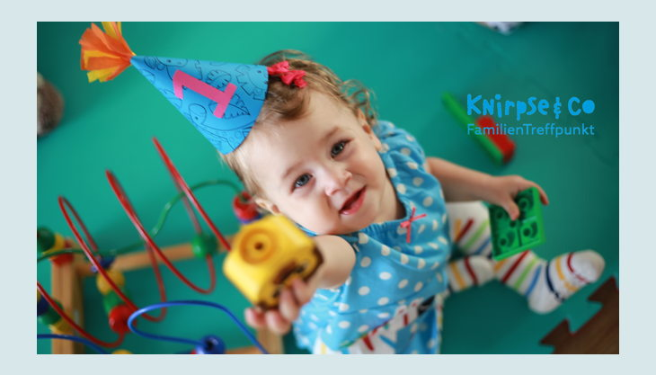 knirpseco kindergeburtstag mit logo