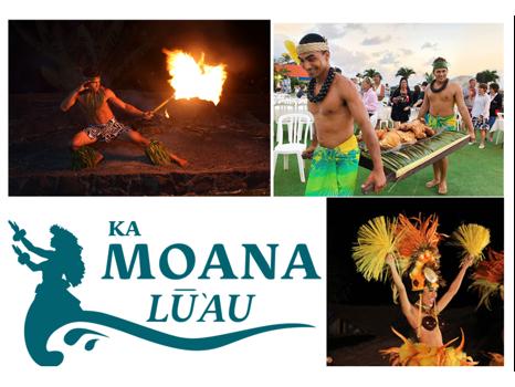 Ka Moana Luau - Celebrity Seats for 2