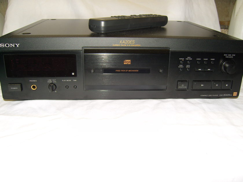 Sony XA20ES CD Player from ES line