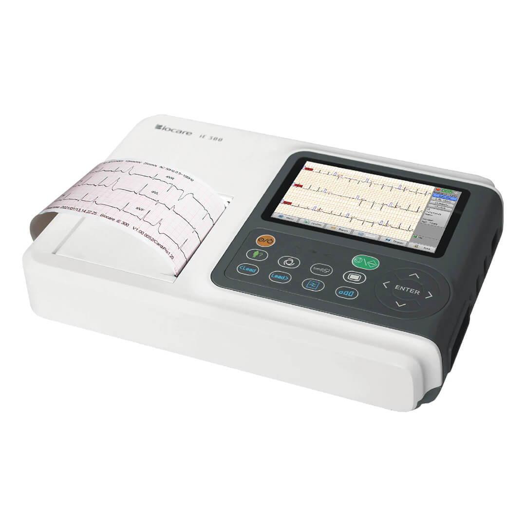 Wellue Biocare 3 قنوات رقمية 12-Lead ECG وحدة.