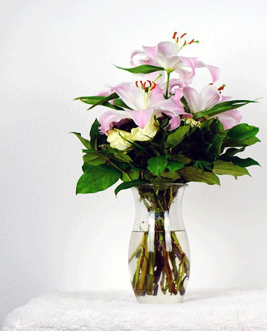 HF Pink lily Bouquet
