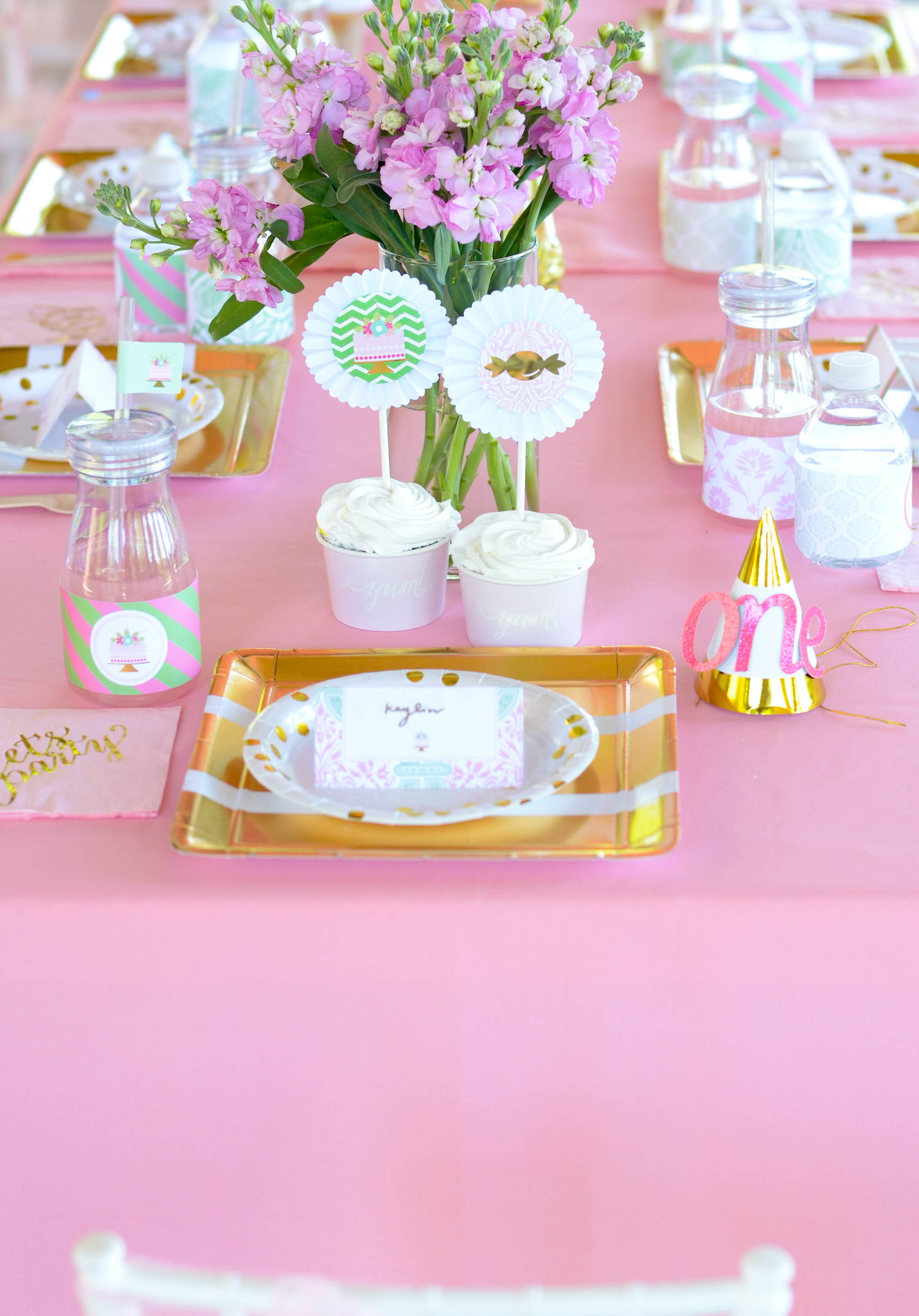 candyland decor, girl first birthday
