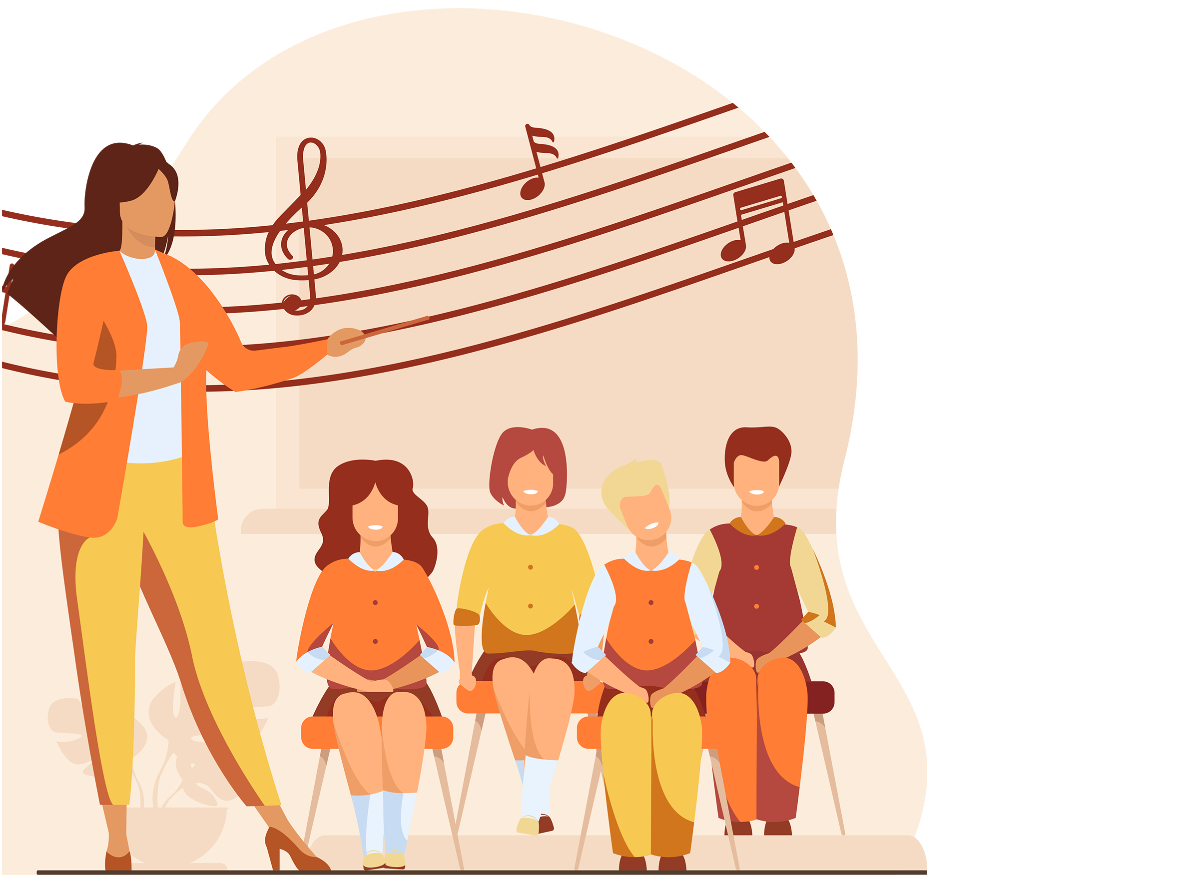 Aulas de musica grande