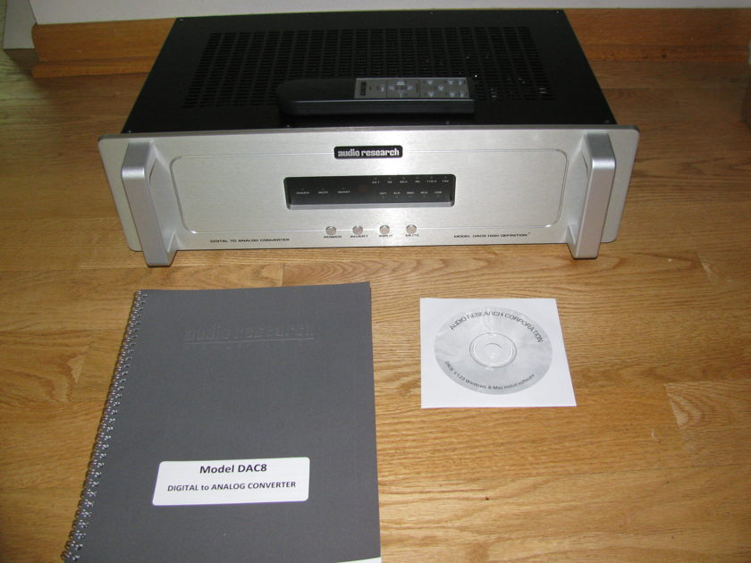 Audio Research DAC 8 Price reduced!