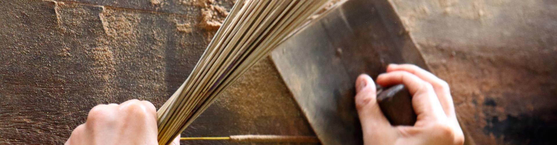 incense sticks making