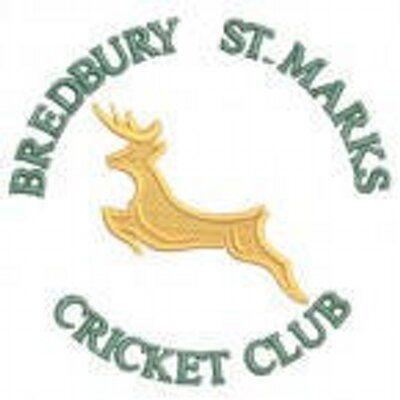 Bredburry St Marks Cricket Club Logo