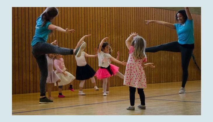 dance company tanz übung