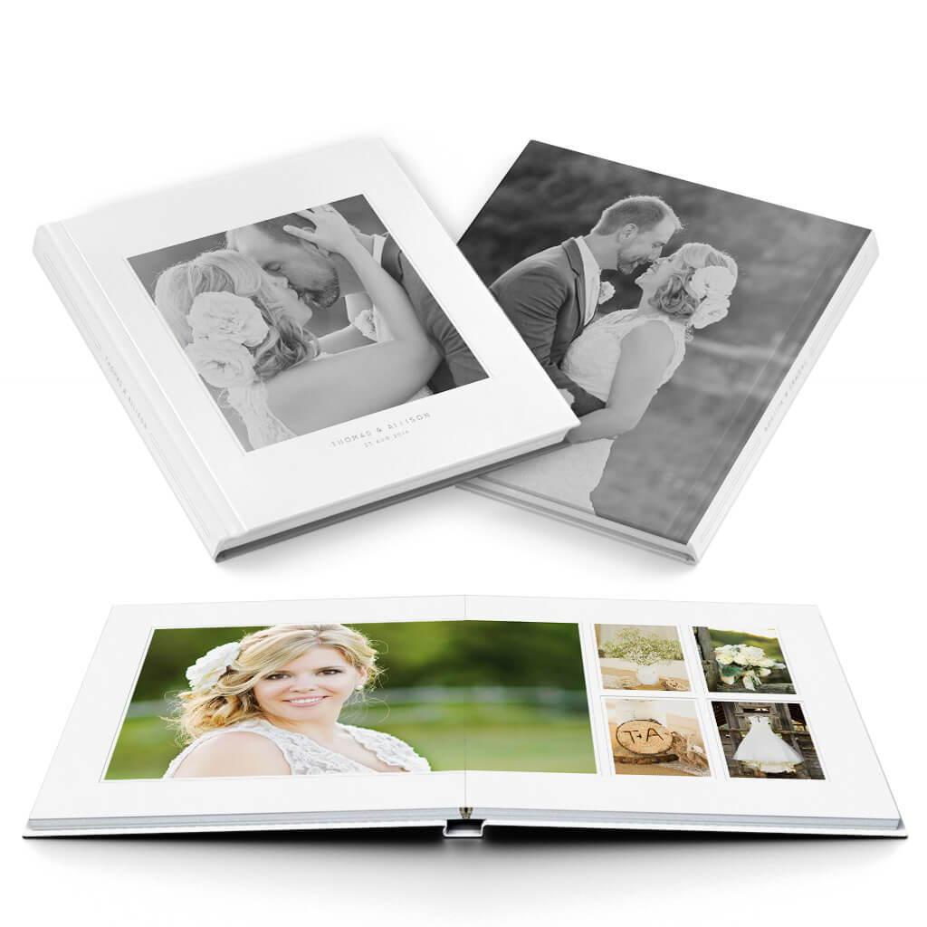 Stunning Wedding Album Photoshop Templates