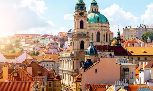 Величественный Пражский Град