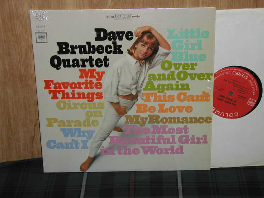 Dave Brubeck Quartet - My Favorite Things  Still in Shrink Columbia CS9237 w/360 sound labels