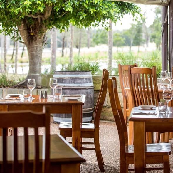 Romantic Table setting at Blaxland Inn Hunter Valley Restaurant Hunter Valley Winery