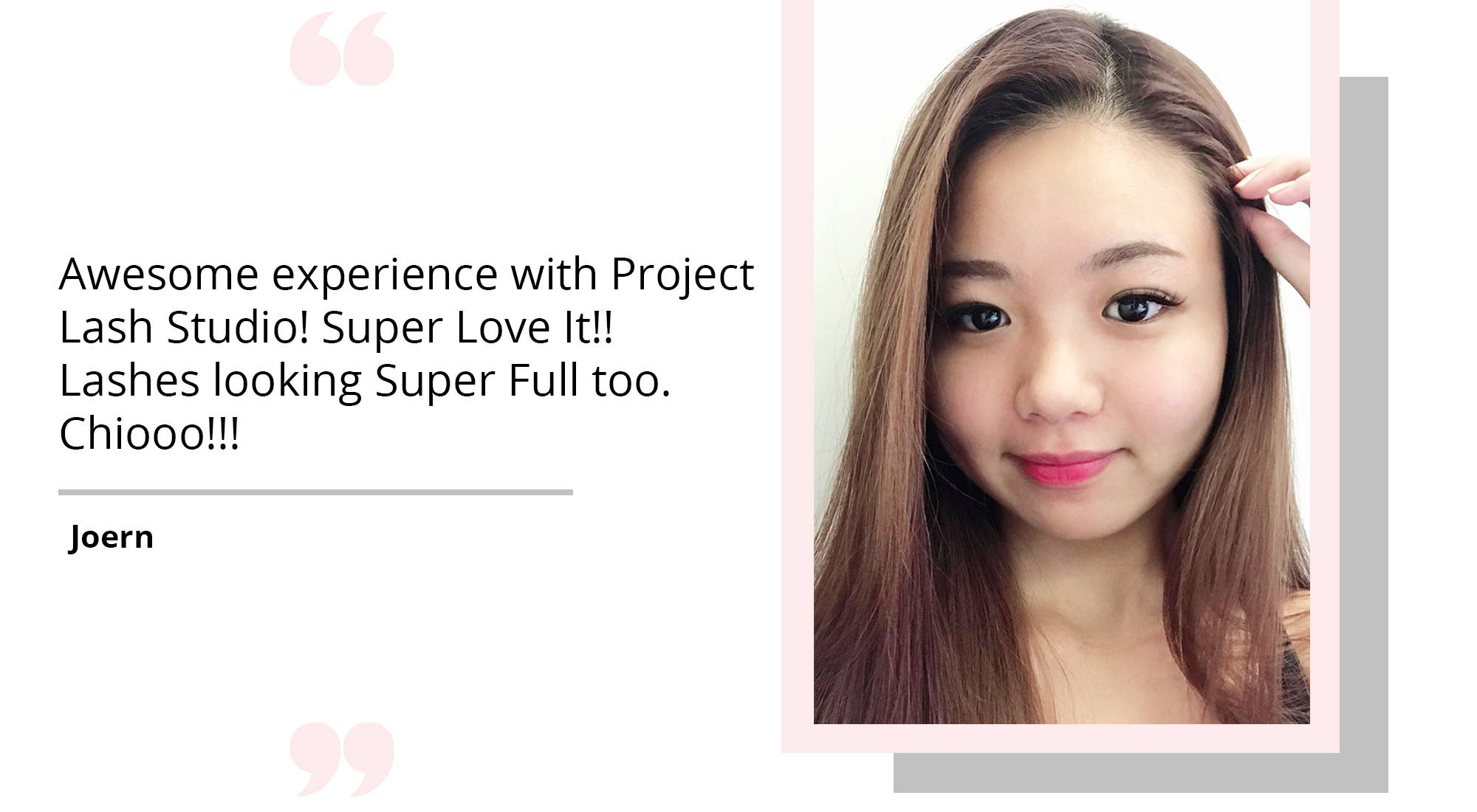 Awesome experience with Project Lash Studio Singappore - Premium Eye Lash Extension Services