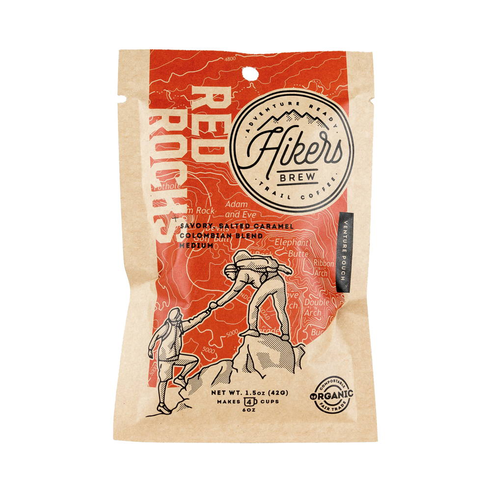 Red Rocks - Salted Caramel Flavored Coffee - 1.5 oz.