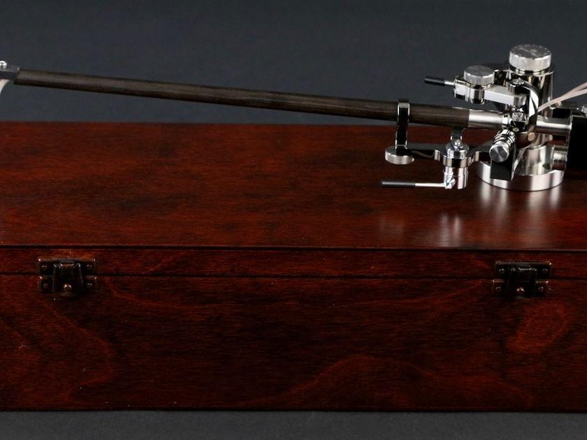 Reed 3P Macassar Ebony wand 12 inch Ruthenium Gloss Copper C37 Cryo Wire