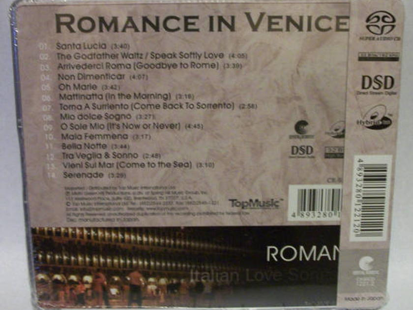 Romance In Venice, - Italian Love Songs TopMusic SACD, new