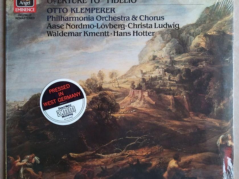 Sealed EMI Digital   KLEMPERER/BEETHOVEN - Symphony No. 9, Fidelio Overture / German Pressing