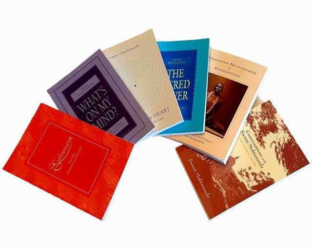 Collection of Siddha Yoga Books