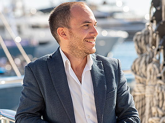 Hamburg - Head of Sales Sebastiano Pitasi of Engel & Völkers Yachting reveals career tips and the role social media plays in his work: