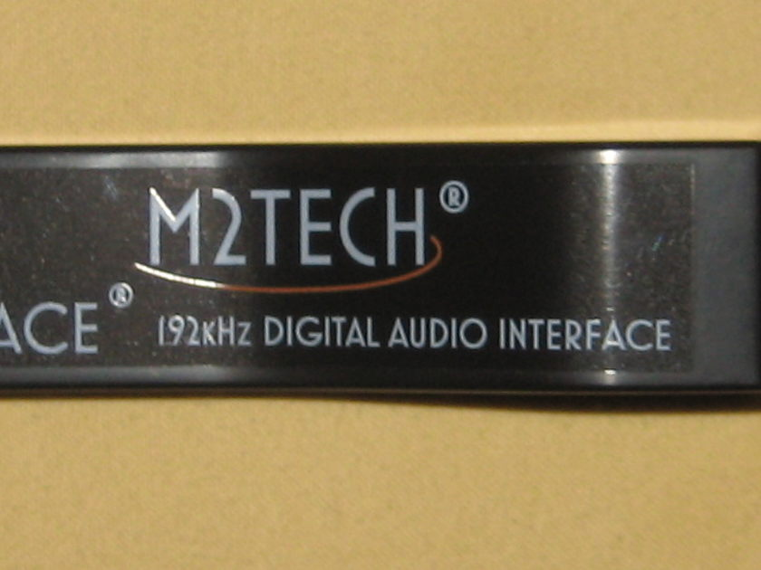 M2Tech hiFace TWO USB to SPDIF Converter RCA or BNC IN STOCK!