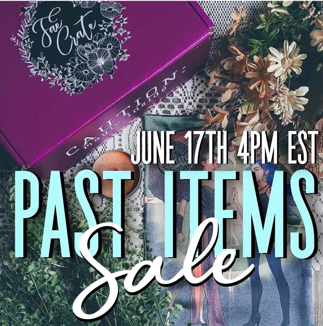 June 17th 4PM EST Pate Items Sale
