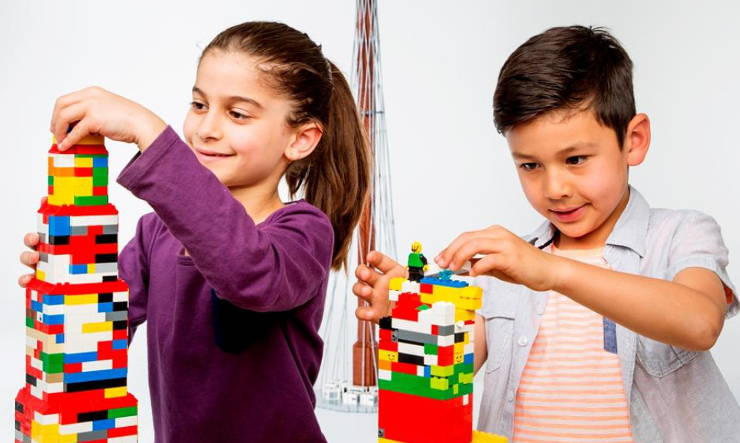 kids learn with lego