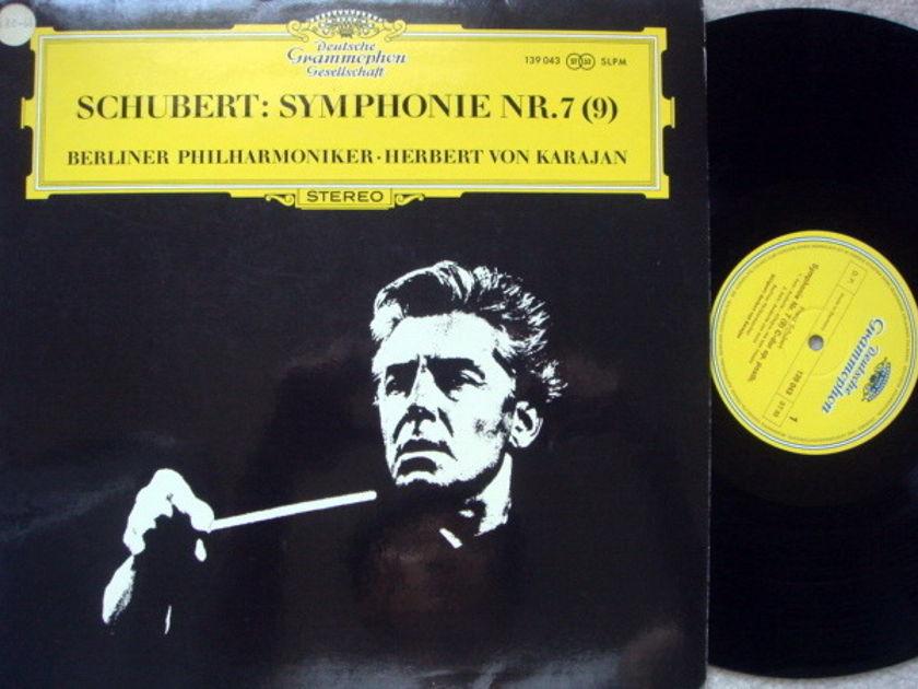 DGG / Schubert Symphony No.7(9), - KARAJAN/BPO, MINT!