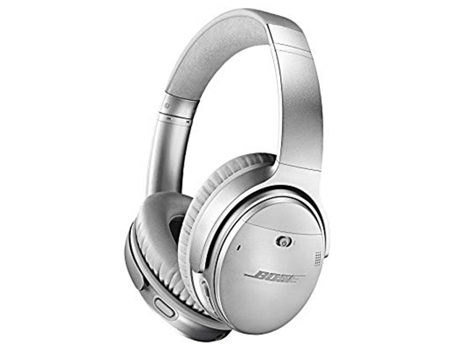 Bose QuietComfort 35 III Noise Cancelling Headphones in silver