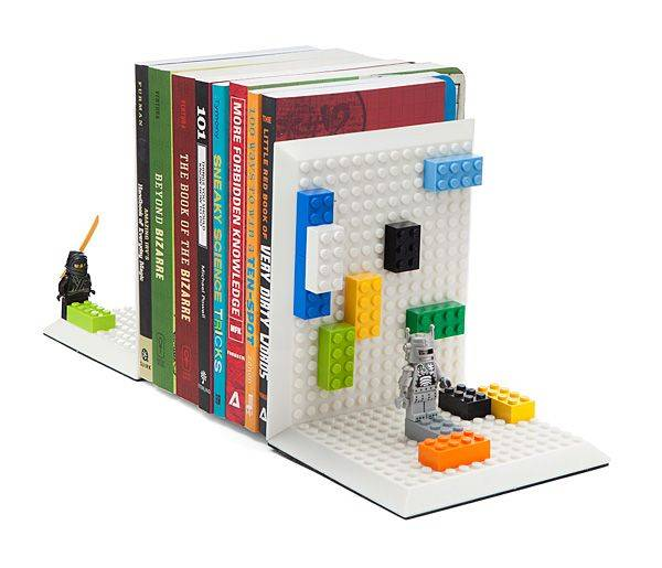 Mini Brick bookends