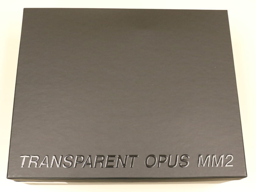 Transparent Audio Opus MM2 1.5m Balanced Interconnects
