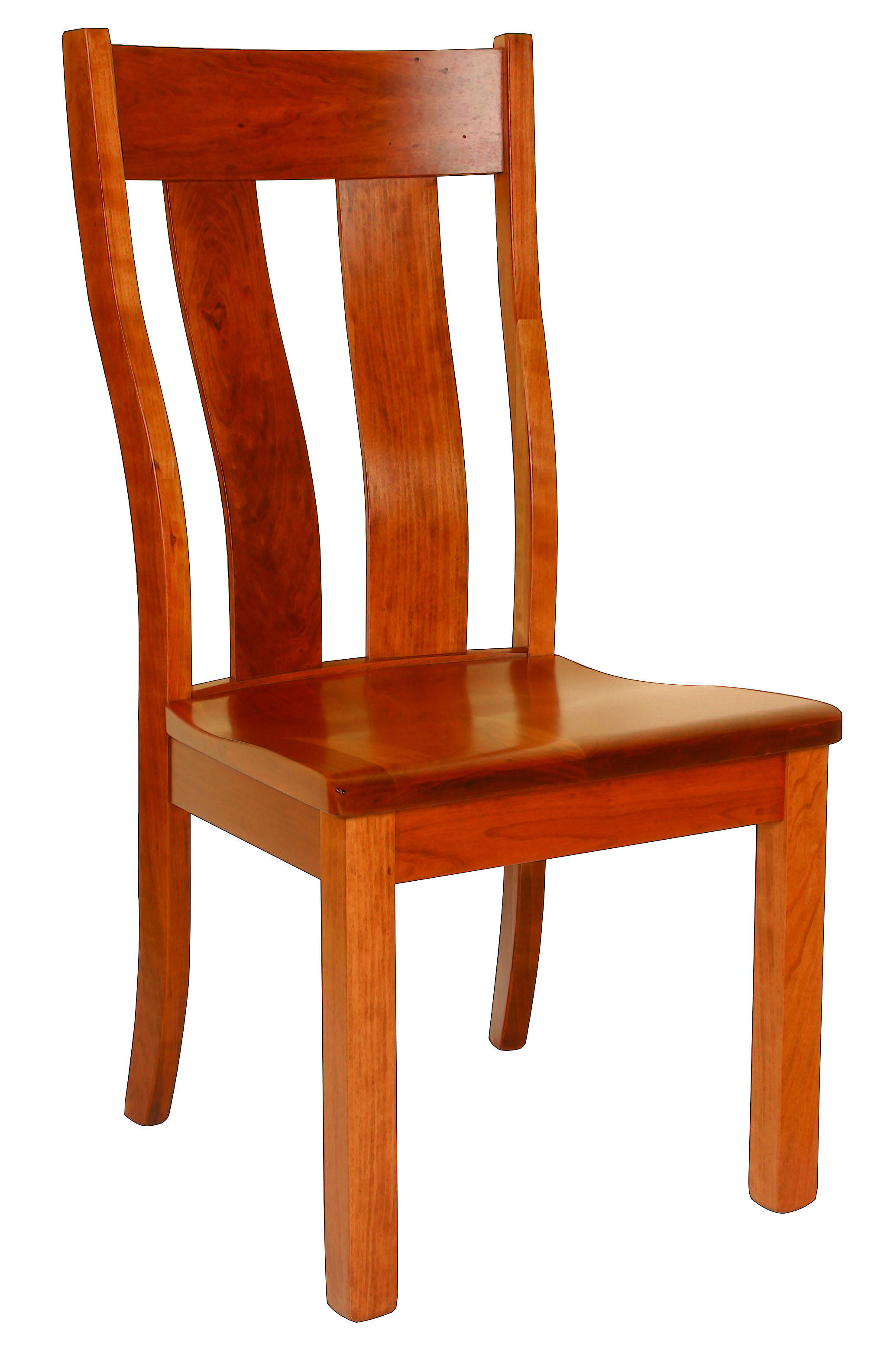 Urbana Solid Wood, Handcrafted Kitchen Chair or DIning Chair from Harvest Home Interiors Amish Furniture