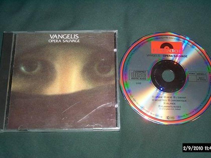Vangelis - Opera Sauvage west germany cd nm