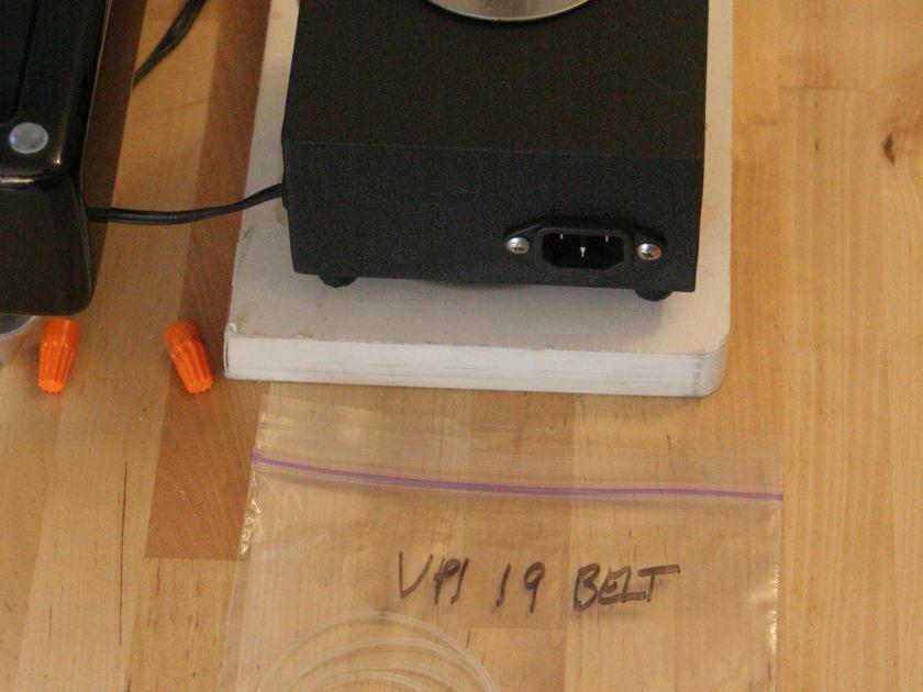 VPI HW-19 MKIV  gloss black TNT MKIV platter
