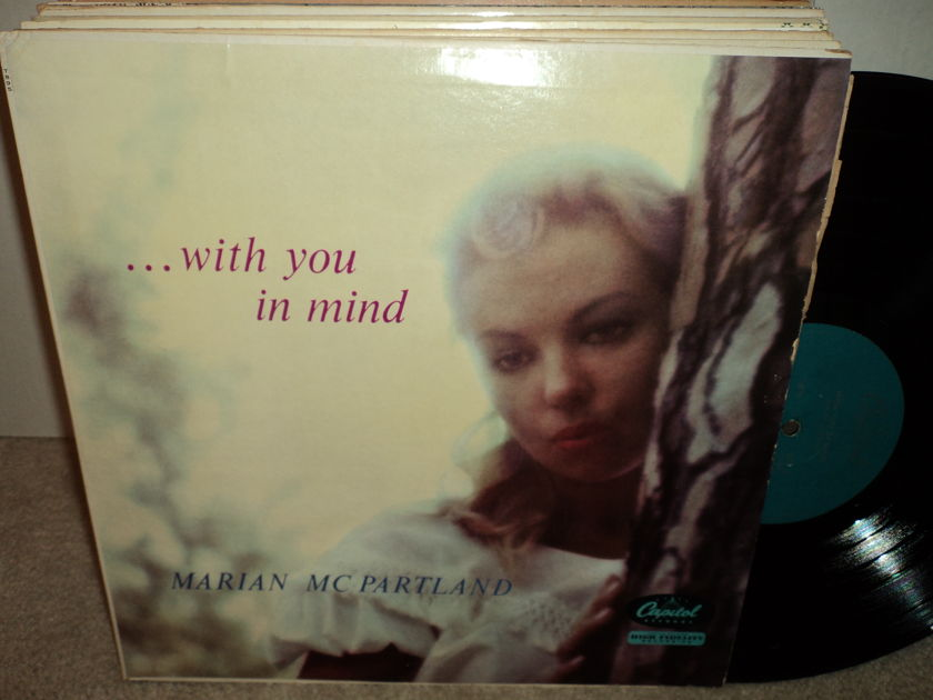 Marian McPartland - With You In Mind Capitol T895 Mono
