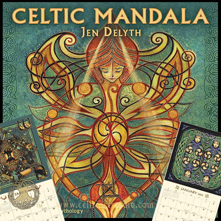 Celtic Art Studio Celtic Mandela 2021 Calendar Celtic Festival Marketplace