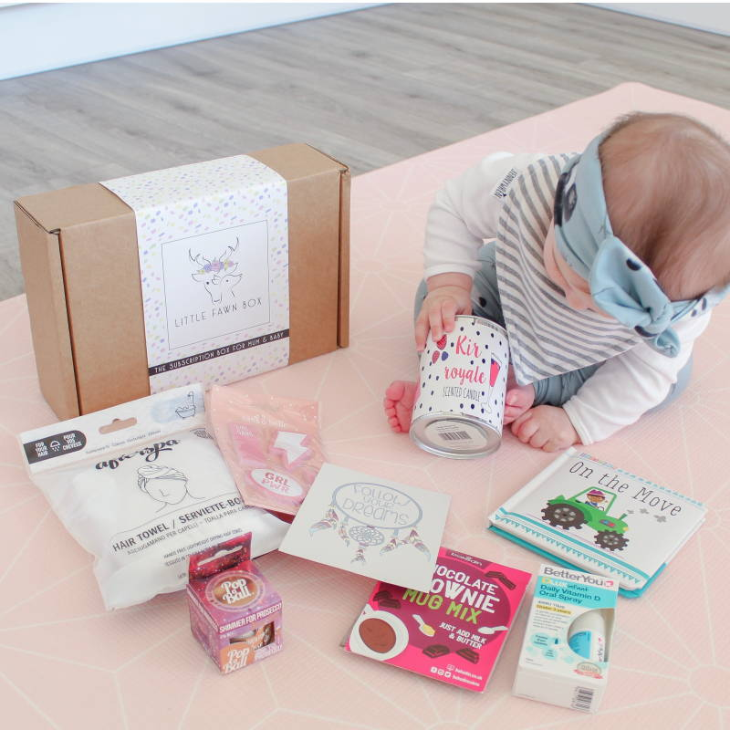 Subscription box for baby