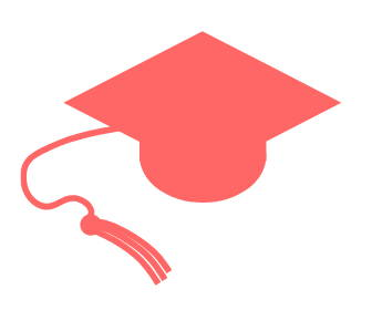 cartoon artwork of a graduation cap