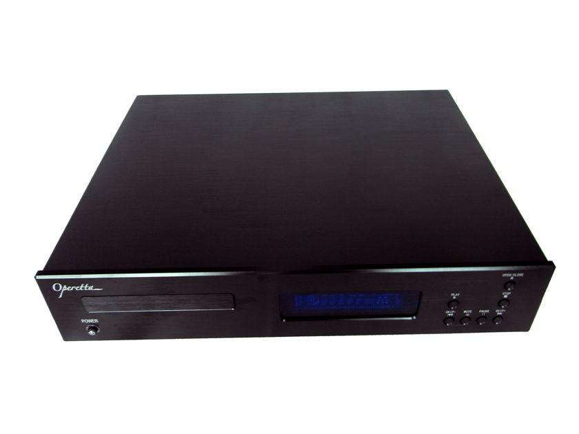 Jaton CD1000B Operatta CD Player with XLR output