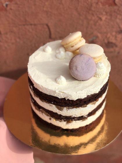 Naked-Cake Шоколад/Груша/Бри