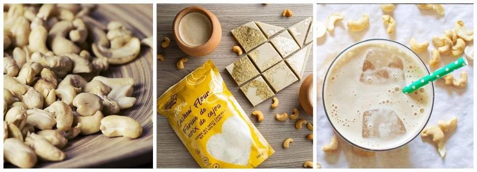 Cashew gluten free flour