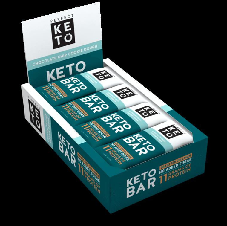 Keto Bars - 12 Bars