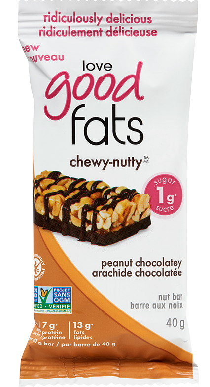 Love Good Fats Chewy Nutty Bars
