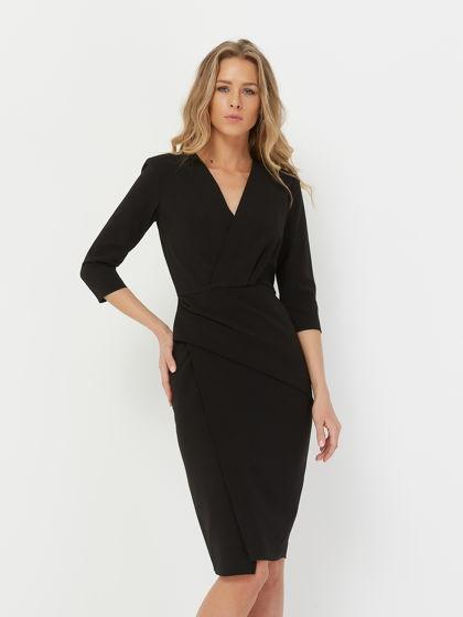 Платье коктейльное черный VENDETTA